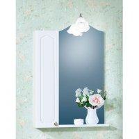 Зеркало для ванной со шкафчиком Бриклаер Лючия 65